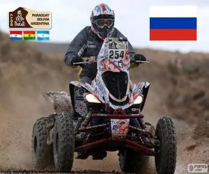 Rompicapo di Sergey Karyakin, Dakar 2017