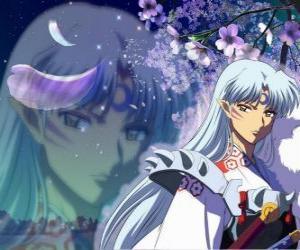 Rompicapo di Sesshomaru, il fratello di Inuyasha. Un demone totale senza scrupoli che odia suo fratello, esseri umani e il debole