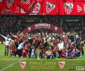 Rompicapo di Sevilla campione Eur. League 15