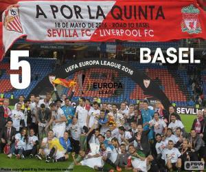 Rompicapo di Sevilla campione Eur. League 16
