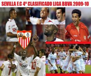 Rompicapo di Sevilla FC 4 Classificato Liga 2009-2010
