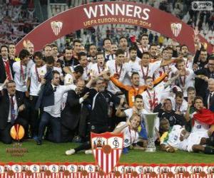 Rompicapo di Sevilla FC, campione UEFA Europa League 2013-2014