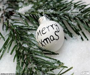 Rompicapo di Sfera di Natale, Mery Xmas