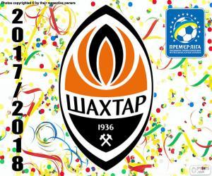 Rompicapo di Shakhtar Donetsk, campione 2017-18
