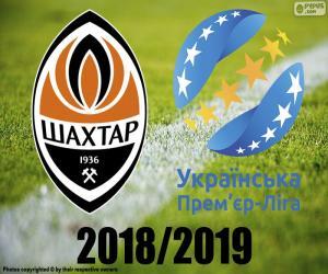 Rompicapo di Shaktar Donetsk, campione 2018-2019