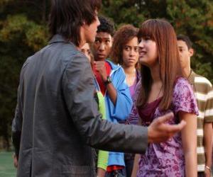 Rompicapo di Shane (Joe Jonas) arrabbiato con Mitchie Torres (Demi Lovato)