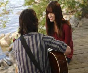 Rompicapo di Shane (Joe Jonas) cantare un lato di Mitchie Torres (Demi Lovato)