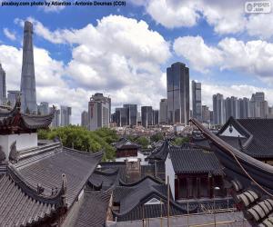 Rompicapo di Shanghai, Cina