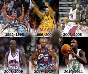 Rompicapo di Shaquille O'Neal considerato il giocatore più dominante nella storia della NBA. Il 1 giugno 2011 ha annunciato il suo ritiro