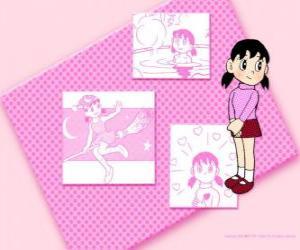 Rompicapo di Shizuka Minamoto è l'unica ragazza del gruppo