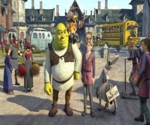 Rompicapo di Shrek con il successore di Azzurro possibile al trono