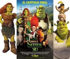 Rompicapo di Shrek e vissero felici e contenti