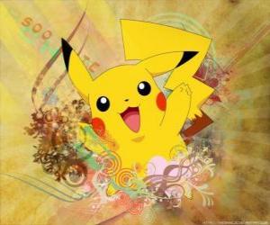 Rompicapo di Si tratta di un Pokémon mouse giallo, tipo elettrico.