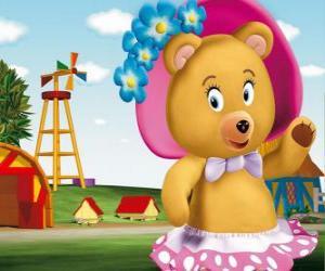 Rompicapo di Signora Tubby orso la vicina di Noddy
