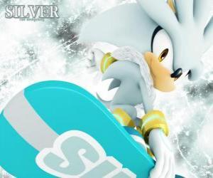 Rompicapo di Silver the Hedgehog, il riccio che viene dal futuro