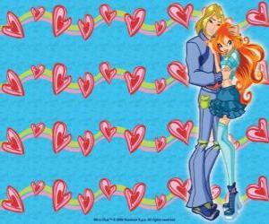 Rompicapo di Sky, principe di Eraklion e Bloom in love