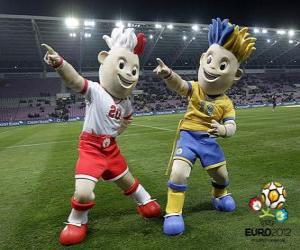 Rompicapo di SLAVEK e Slavko - UEFA Euro 2012 -
