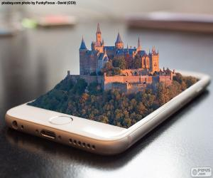 Rompicapo di Smartphone 3D