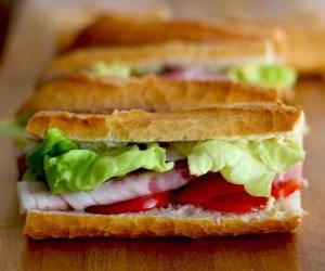 Rompicapo di Snack o sandwich
