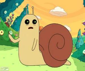 Rompicapo di Snail, la piccola lumaca da Adventure Time