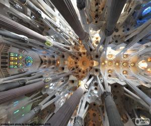 Rompicapo di Soffitto, Sagrada Familia, BCN