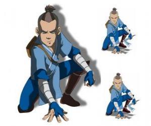 Rompicapo di Sokka è un guerriero della Southern Water Tribe che accompagna Aang