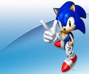 Rompicapo di Sonic the Hedgehog, il protagonista principale della serie di videogiochi Sonic
