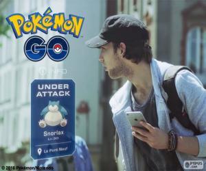 Rompicapo di Sotto attacco, Pokémon GO