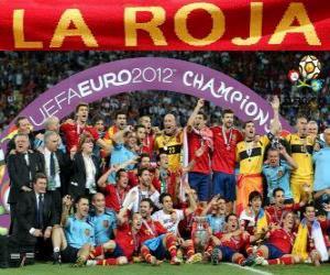 Rompicapo di Spagna, campione UEFA EURO 2012