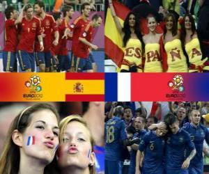 Rompicapo di Spagna - Francia, quarti di finale, Euro 2012