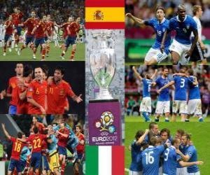 Rompicapo di Spagna vs Italia. Finale Euro 2012