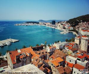 Rompicapo di Spalato, Croazia