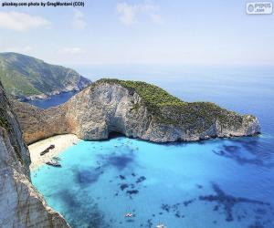 Rompicapo di Spiaggia del Navagio, Grecia