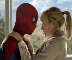 Rompicapo di Spider-man, insieme a Gwen Stacy
