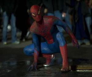 Rompicapo di Spider-man per le strade di New York