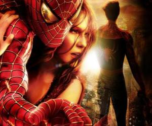 Rompicapo di Spiderman con Mary Jane