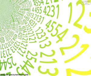 Rompicapo di Spirale di numeri