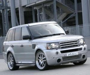 Rompicapo di Sport Utility Vehicle - Range Rover