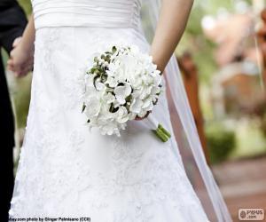 Rompicapo di Sposa con il mazzo