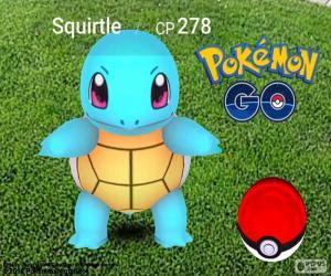 Rompicapo di Squirtle Pokémon GO