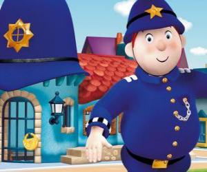 Rompicapo di Sr. Plod è il poliziotto di Giocattolandia