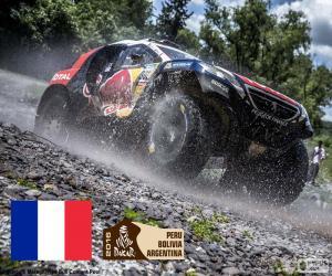 Rompicapo di Stéphane Peterhansel Dakar 2016