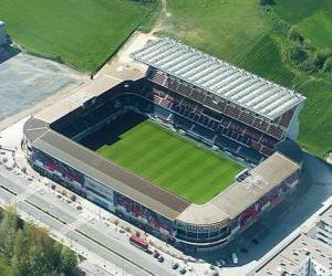 Rompicapo di Stadio di C. A. Osasuna - Reyno de Navarra -
