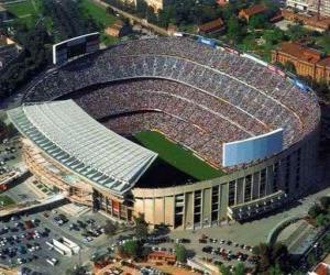 Rompicapo di Stadio di F. C. Barcelona - Camp Nou -