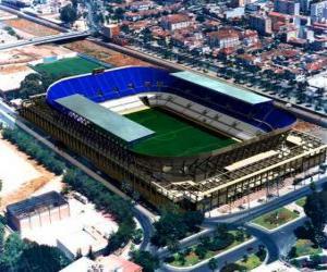 Rompicapo di Stadio di Málaga C.F - La Rosaleda -