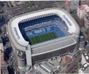 Rompicapo di Stadio di Real Madrid - Santiago Bernabéu -