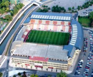 Rompicapo di Stadio di Real Sporting de Gijón - El Molinón -