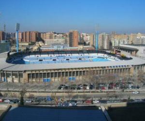 Rompicapo di Stadio di Real Zaragoza - La Romareda -