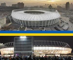 Rompicapo di Stadio Olimpico di Kiev (69.055), Kiev - Ucraina