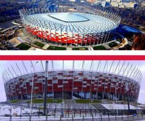 Rompicapo di Stadion Narodowy (58.145), Varsavia - Polonia